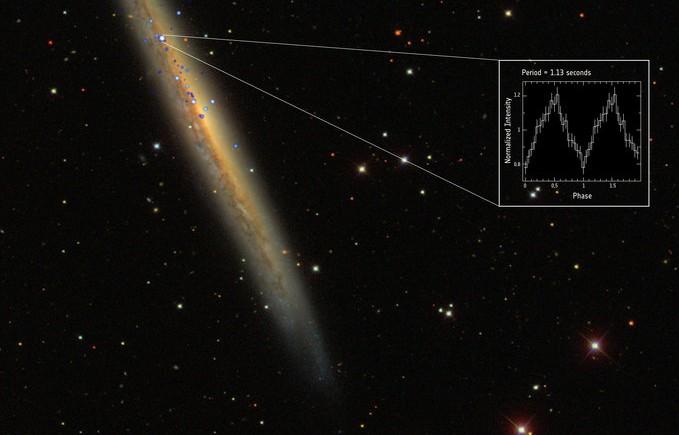 438335101 Открыт самый яркий пульсар во Вселенной