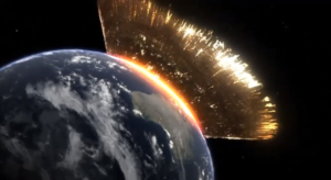 meteorit1-300x225 А что было бы, если на Землю упал бы гигантский метеорит?